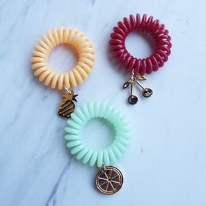 Invisibobble Accessories - NWIB Invisibobble Traceless Hair Rings with  Charms 160a54a1566